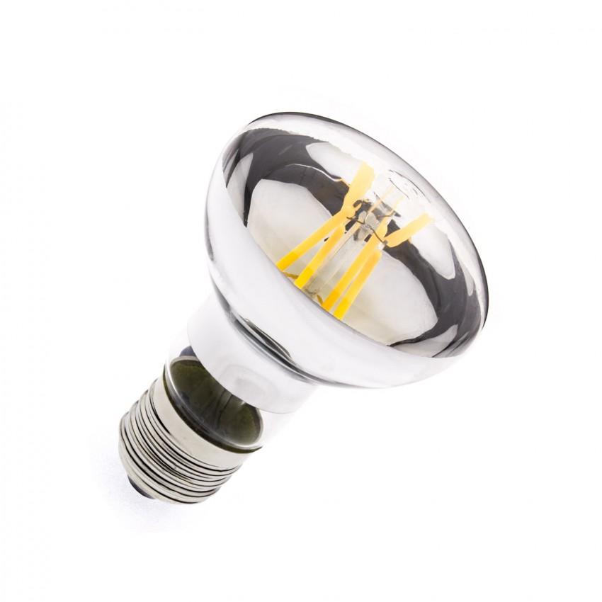 Lampadina LED E27 Regolabile Filamento R63 3.5W
