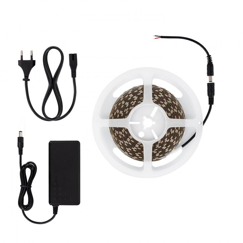 Kit Striscia LED 12V 70W 60LED/m 5m IP20 con Trasformatore