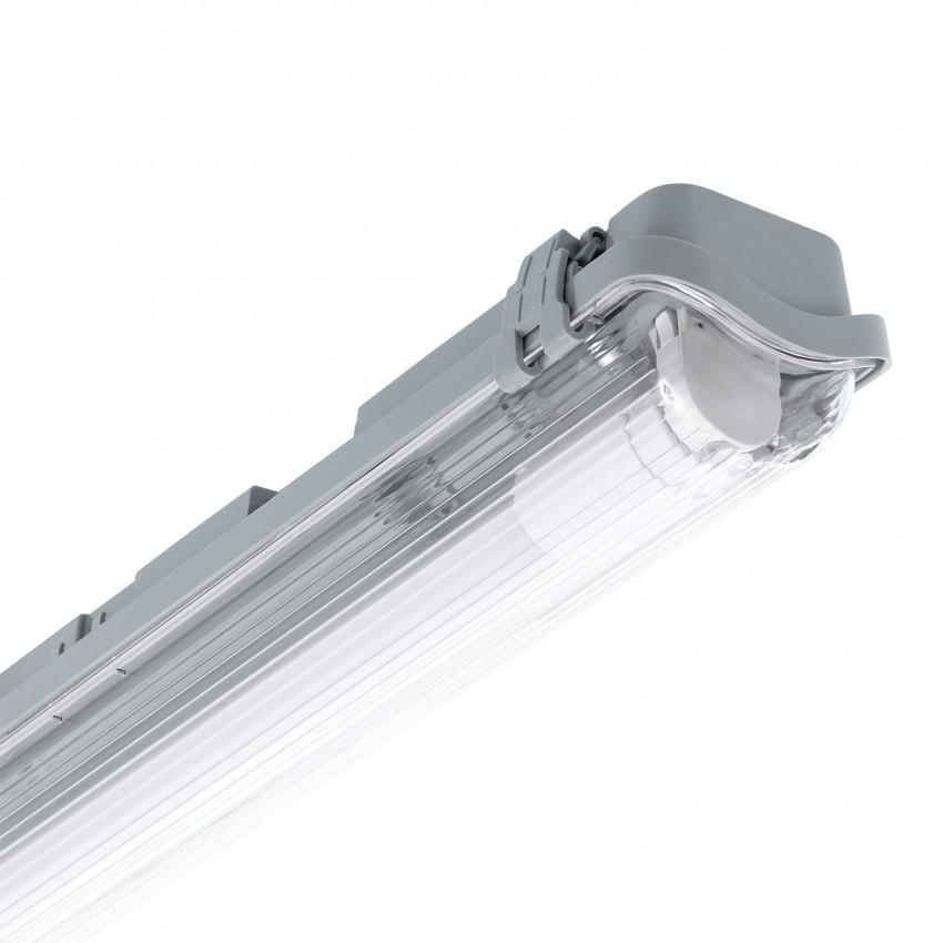 Plafoniera Stagna Slim per un Tubo LED 1200mm Connessione Unilaterale IP65