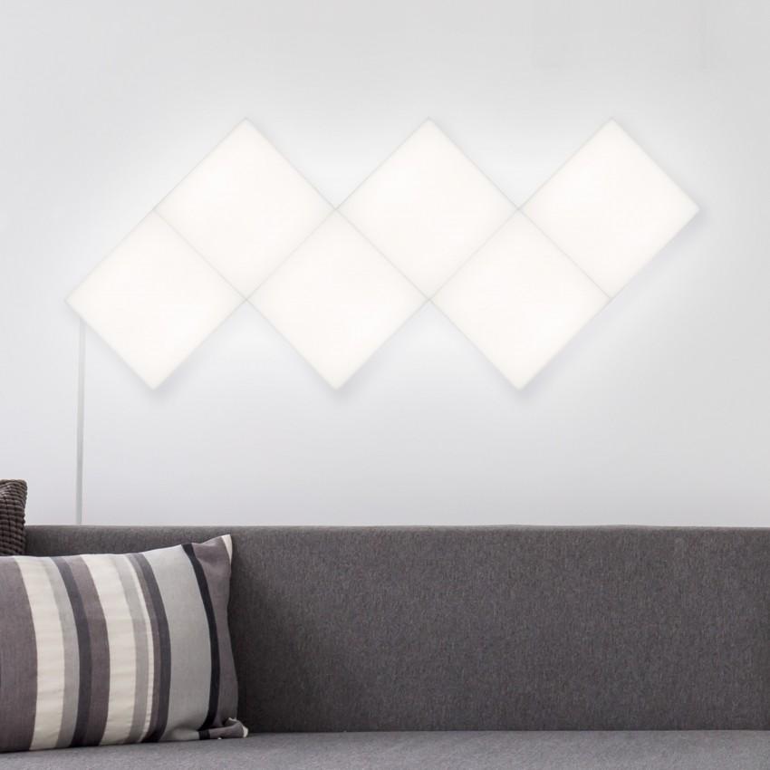 Pannello LED Quadrato 30x30cm 10W 800lm Base Principale