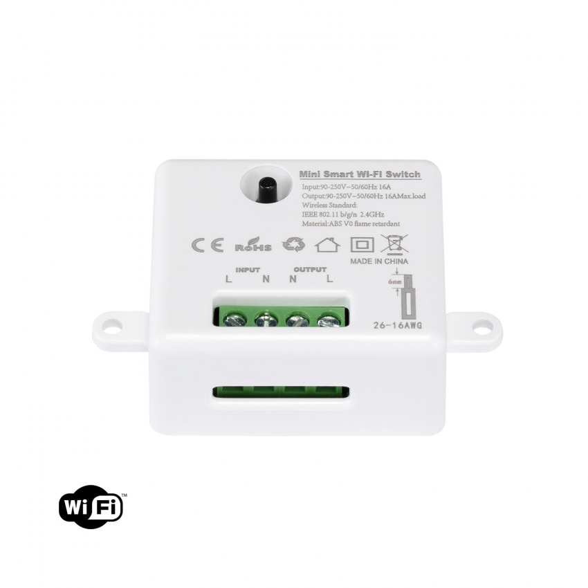 Interruttore WiFi per Scatola Universale