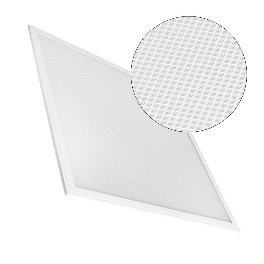 Pannello LED 60x60cm 40W 4000lm Regolabile Microprismatico (UGR17)