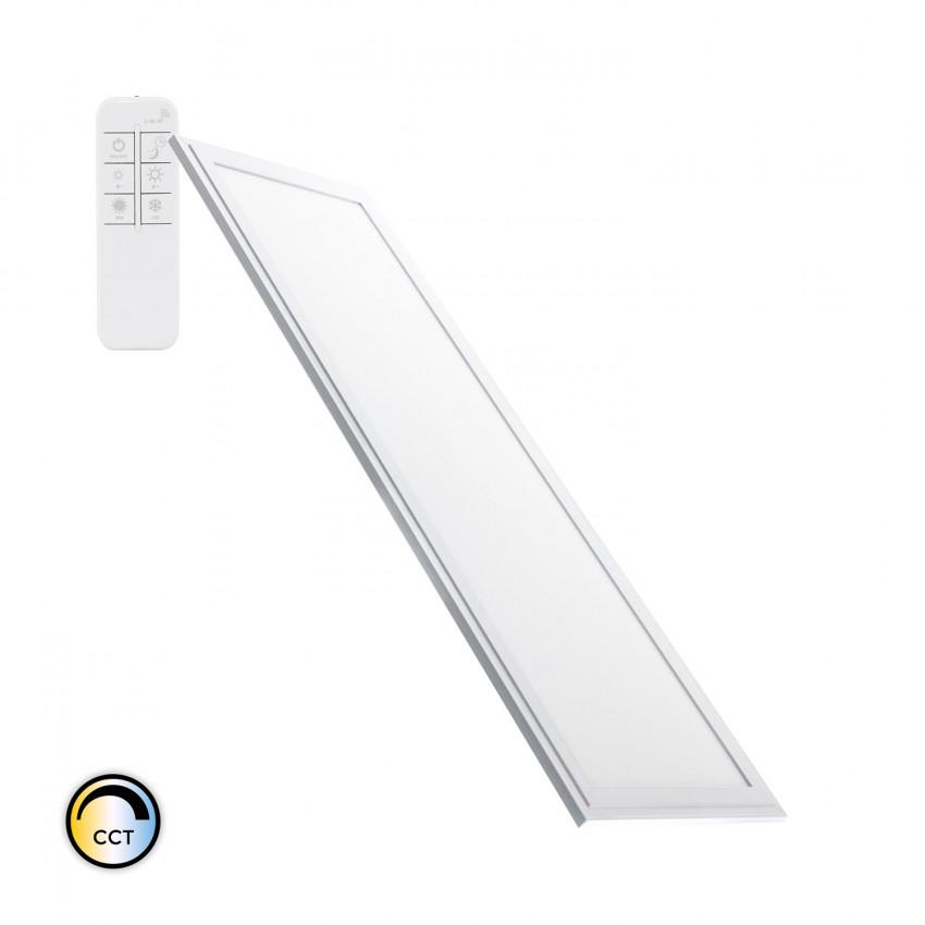 Pannello LED 120x30cm 40W 3600lm Regolabile Slim CCT Selezionabile