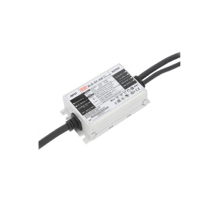 Driver MEAN WELL Regolabile 1-10V IP67 100-240V Output 27-56V 1000-2100mA 50W XLG-50-H-AB