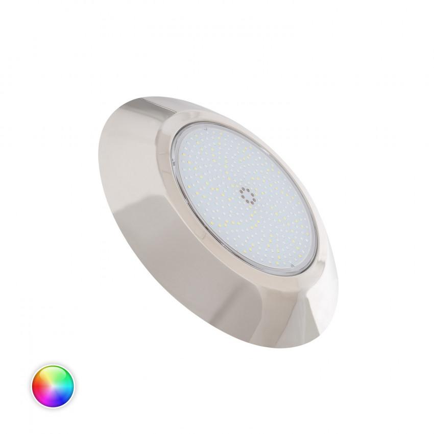 Faretto Piscina LED Superficie Inox RGBW 12V DC IP68 24W