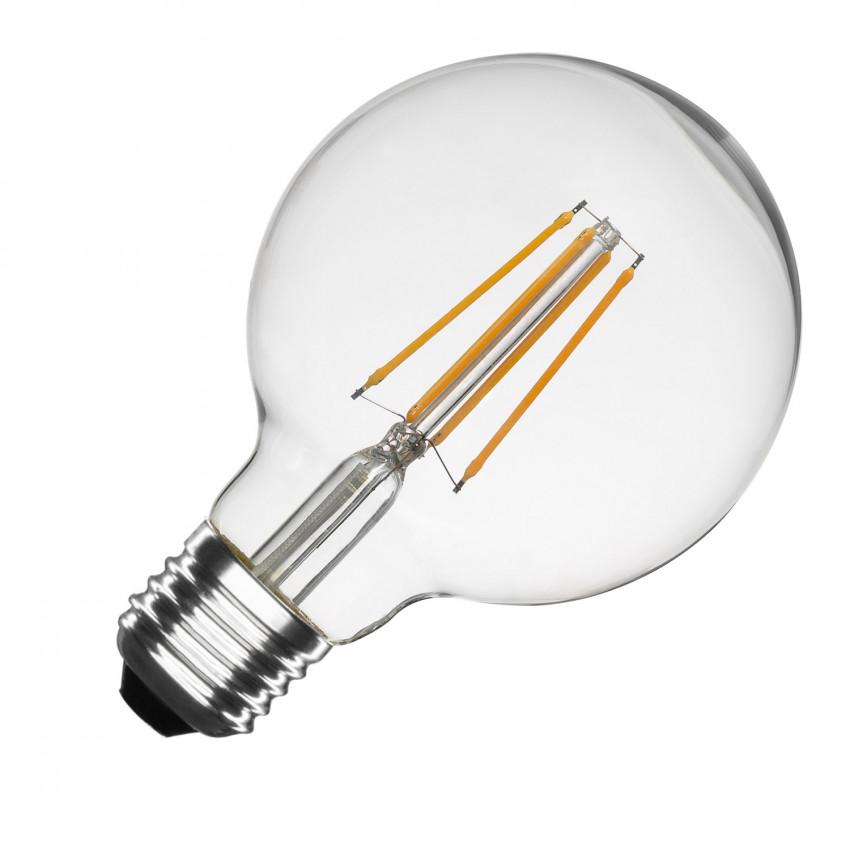Lampadina LED E27 Regolabile Filamento Planet G95 6W