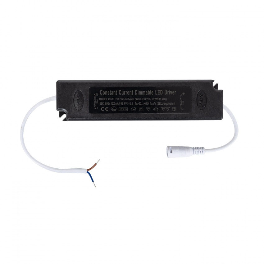 Driver Regolabile TRIAC 180-240V Output 36-55V 880mA 40W