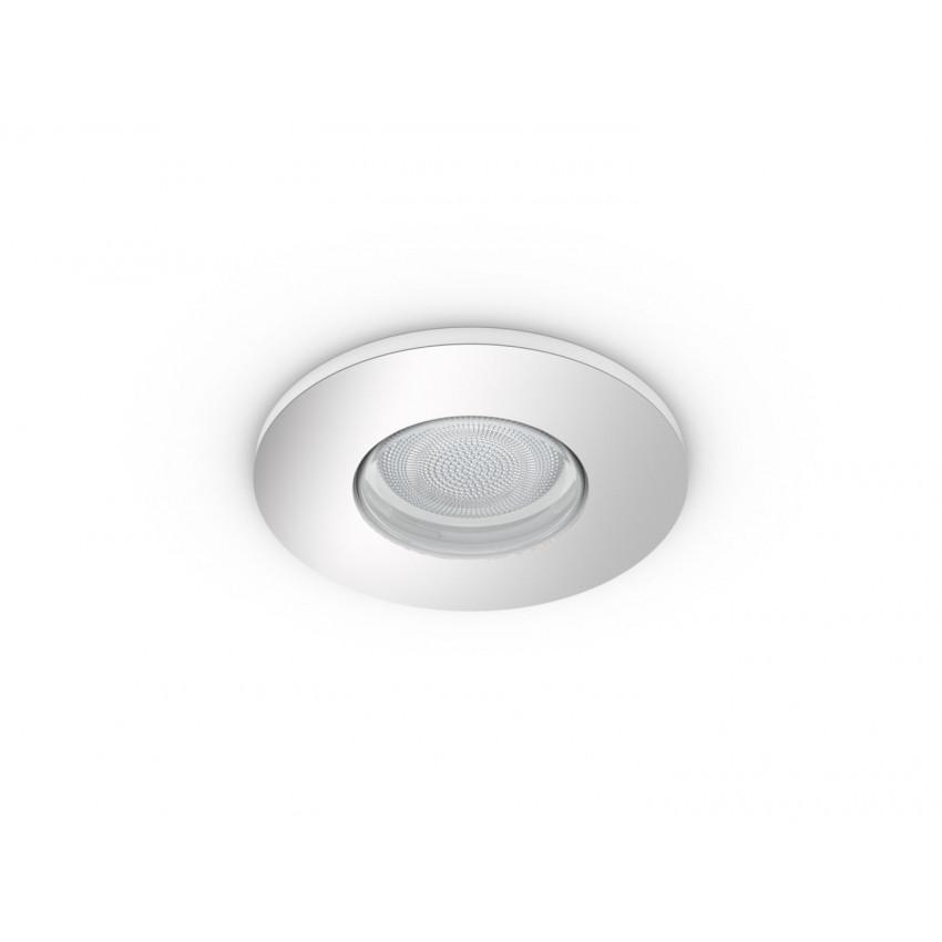 Downlight White Ambiance GU10 PHILIPS Hue Adore Foro Ø70 mm