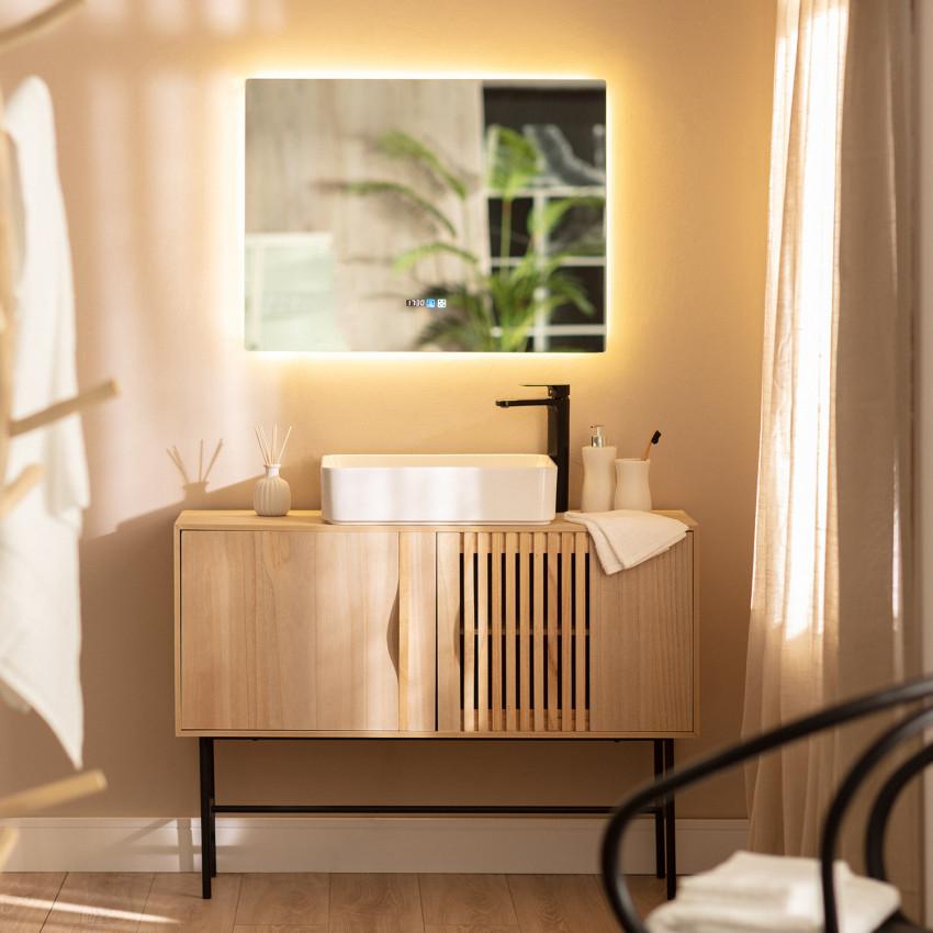 Specchio LED Antiappannamento Touch Sarakiniko 60x80 cm