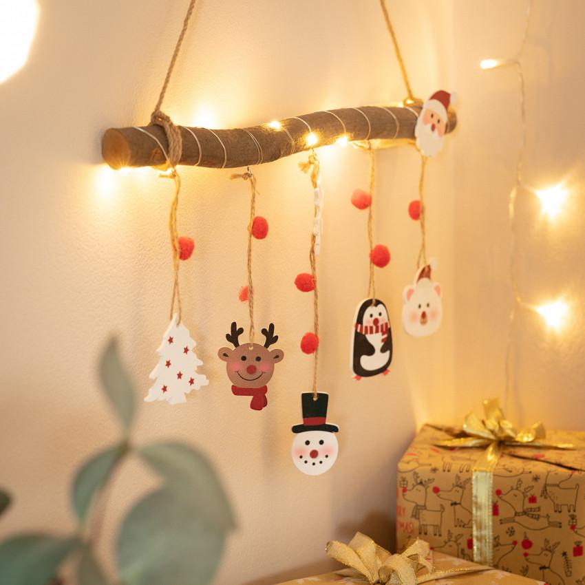 Ghirlanda LED a Sospensione di Natale