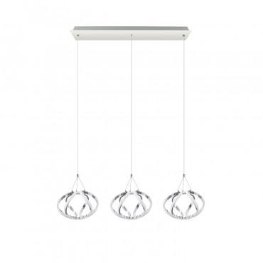 Lámpara Led Colgante 3 Lineal Le 50w