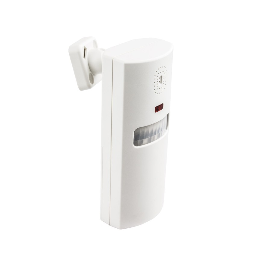 Alarm with Infrared Sensor and  two Remote Controls
