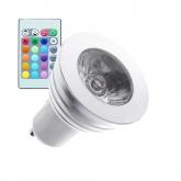GU10 3W RGB LED Lamp