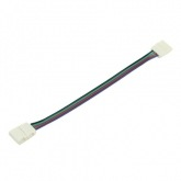 Double 10mm Connector Cable for SMD5050 RGB LED Strips (12V)