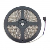 5m RGB LED Strip 12V DC, SMD5050, 60LED/m, IP65