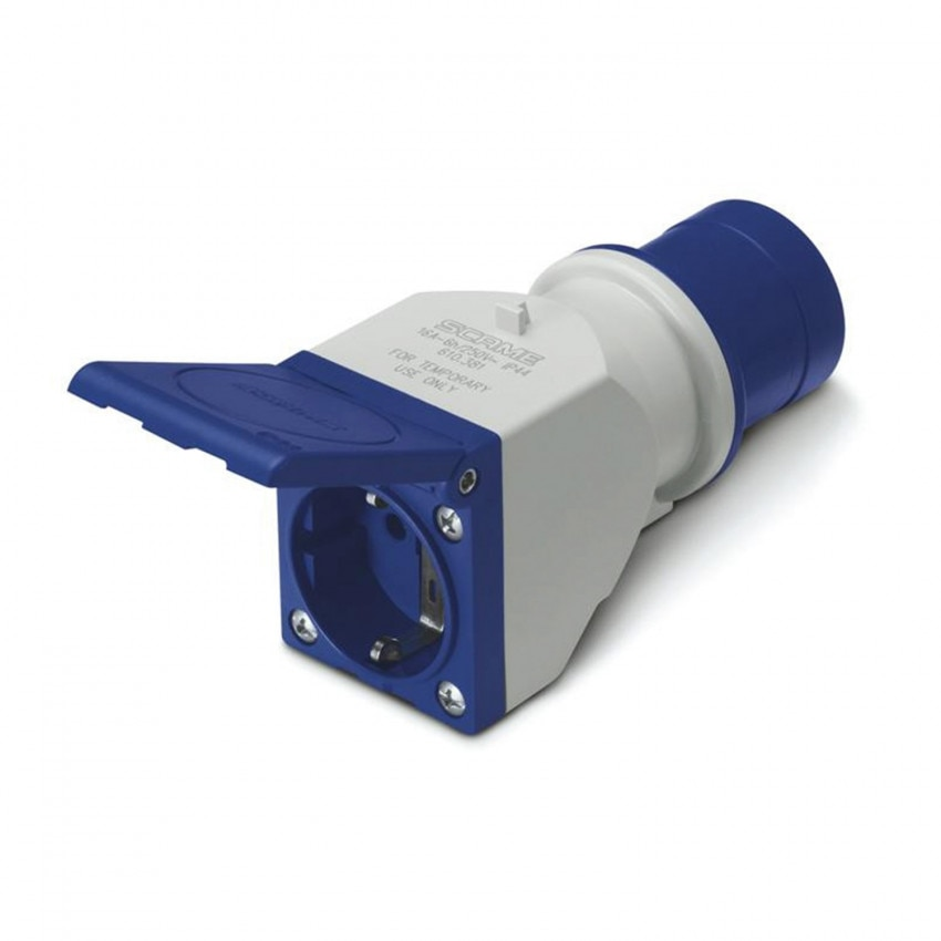 IEC309 Adapter for a Type F Plug - IP54