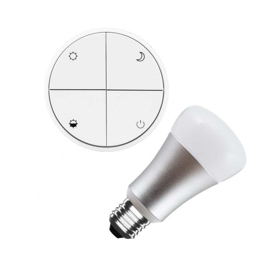 Wireless and Dimmable Switch Kit + 8W LED Bulb