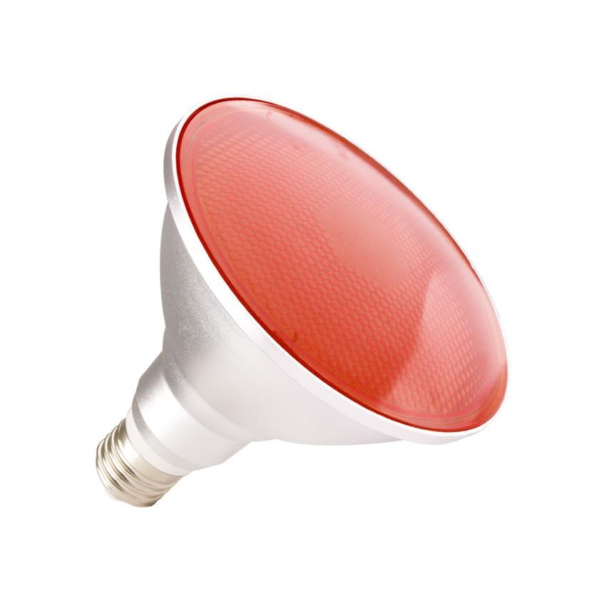 Waterproof PAR38 E27 15W LED Bulb IP65 (Red Light)