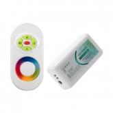 12/24V RGB LED Tactile Controller + RF Remote Control Dimmer