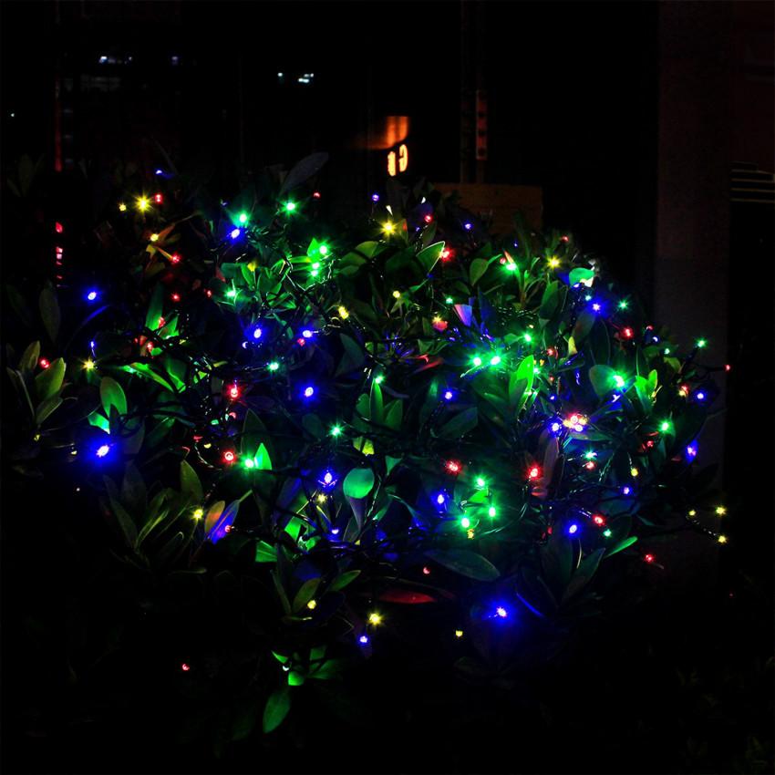 12m Solar LED Garland String Light