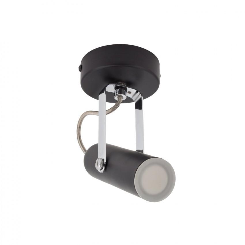 Adjustable 4W Bari LED Surface Spotlight In Black (x1