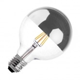 G125 E27 6W Supreme Reflect Filament LED Bulb (Dimmable)