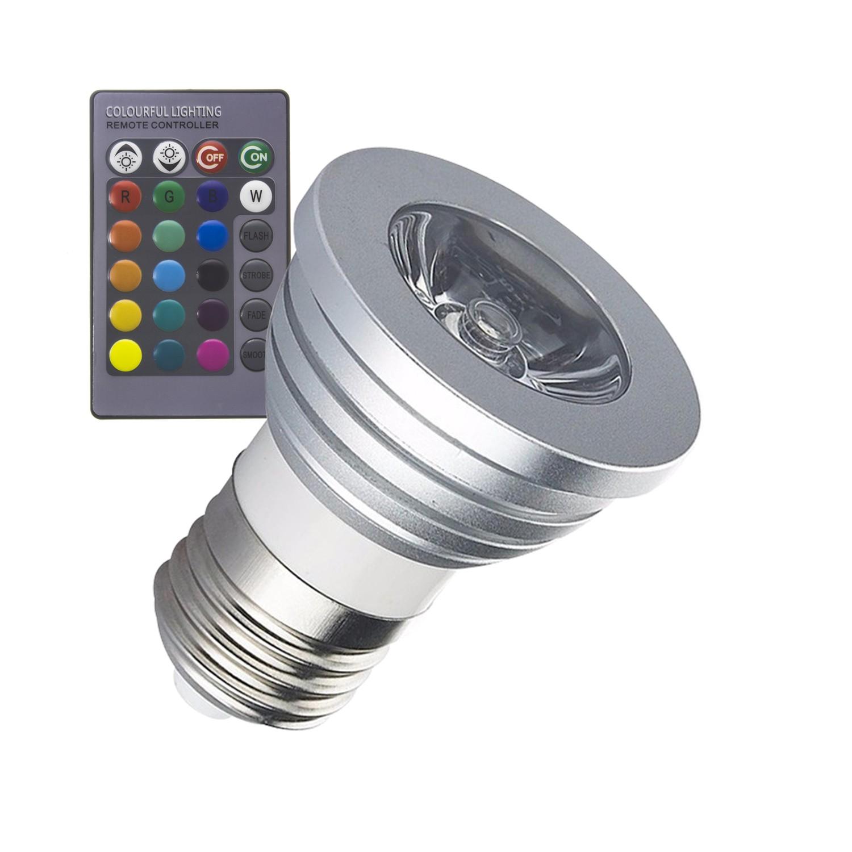 E27 3w Rgb Led Bulb Ledkia Philips Gen V