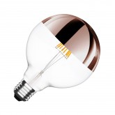 G125 E27 6W Copper Supreme Reflect Fliament LED Bulb (Dimmable)