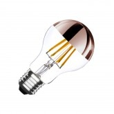 A60 E27 6W Copper Reflect Filament LED Bulb (Dimmable)