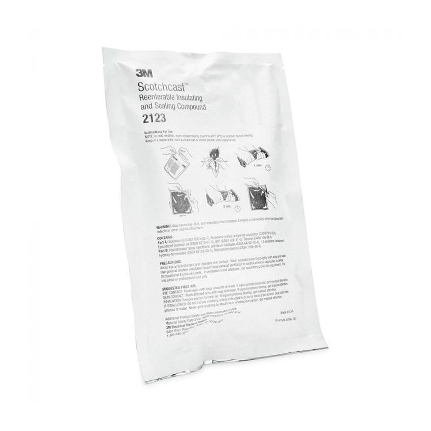3M Scotch 2123 C Re-Enterable Electrical Insulating Resin (350g) - IP68 3M-7000031696
