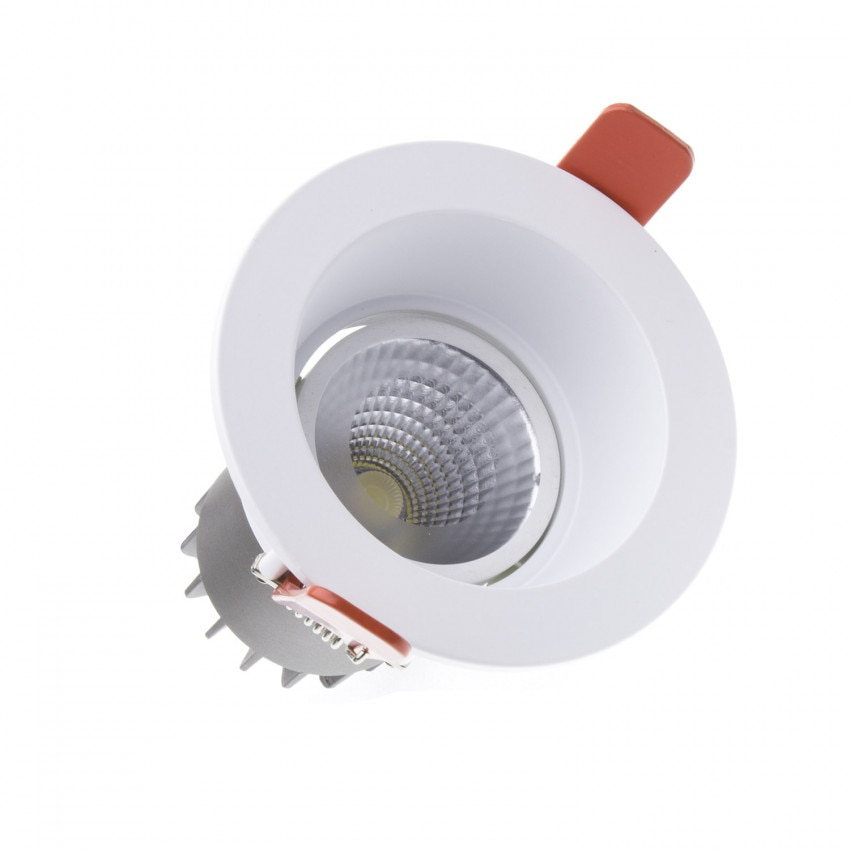 10W Manhattan CREE-COB LED Spotlight - LIFUD (UGR 19) Ø 80mm Cut Out