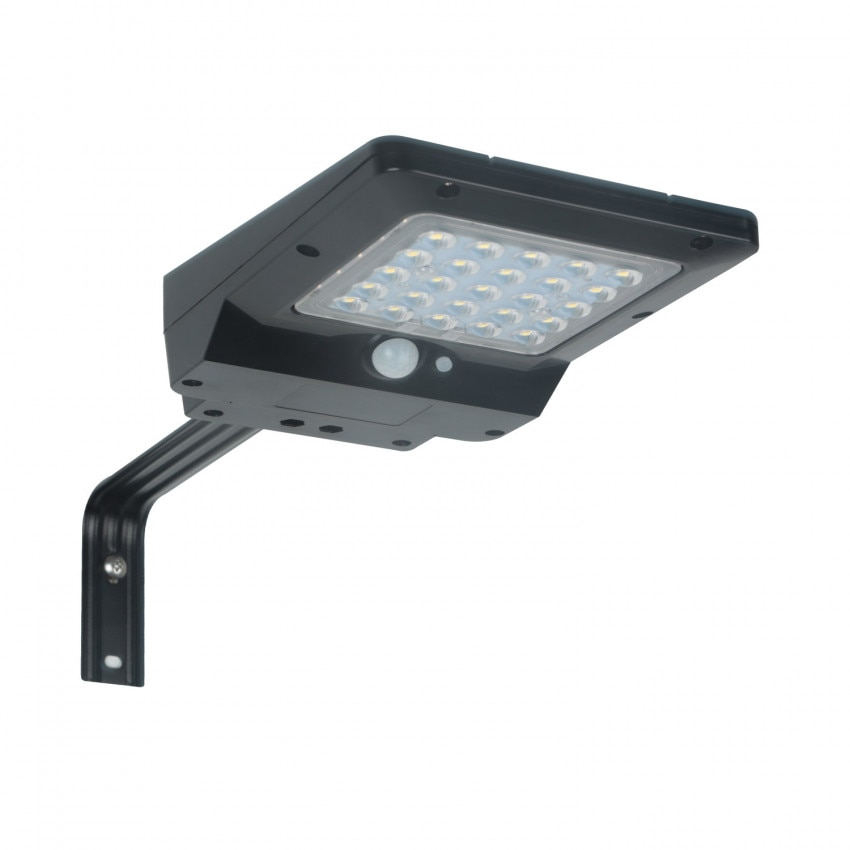 4W Solar LED Luminaire with Motion and Twilight Sensor