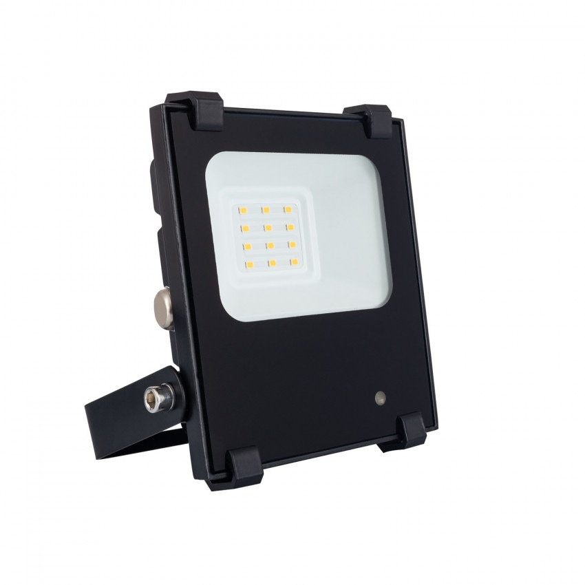 10W 140 lm/W HE PRO Dimmable LED Floodlight with Radar Motion Detection