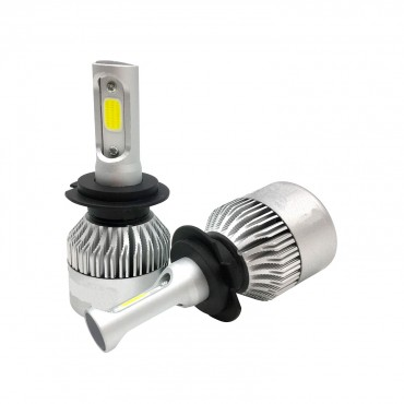H3 20W LED Bulb Kit for Cars and Motorcycles