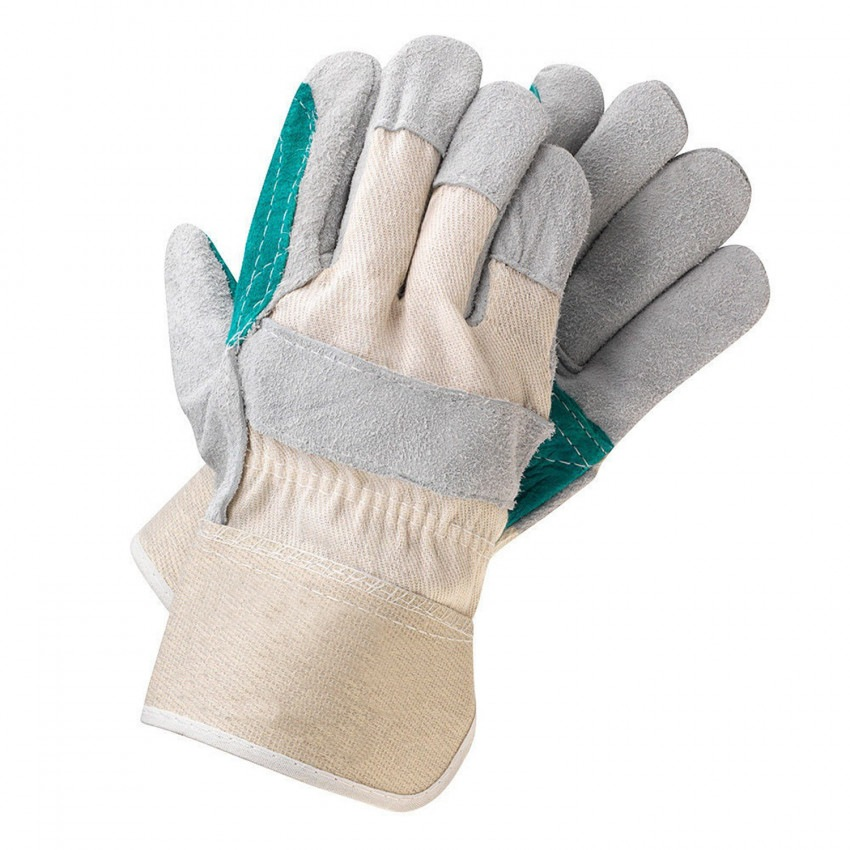 Split Cowhide Leather Work Gloves