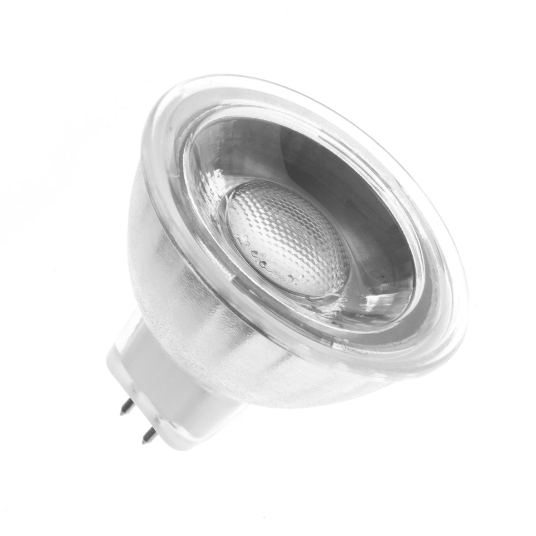 Glass Gu5 3 Mr16 12v 45º 5w Cob Led Lamp Ledkia