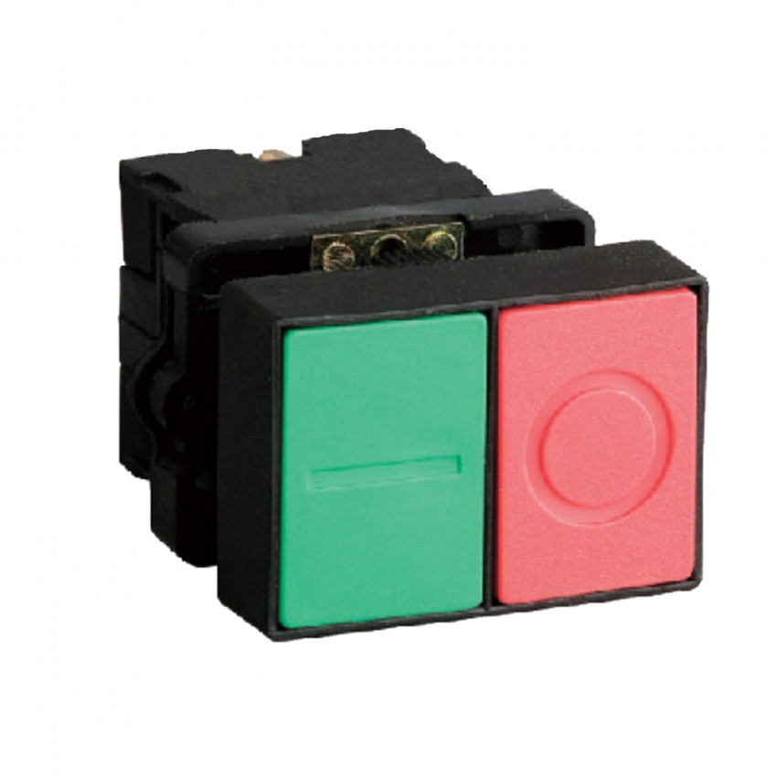 MAXGE IP40 Double Push Button