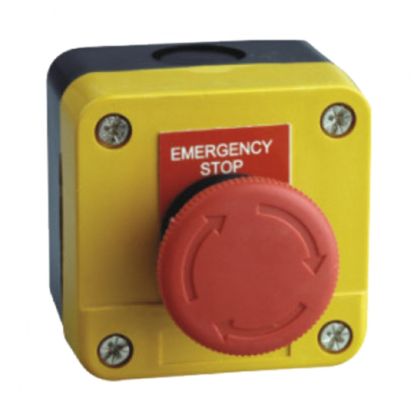 Surface Box with Emergency Stop Button Ø40mm