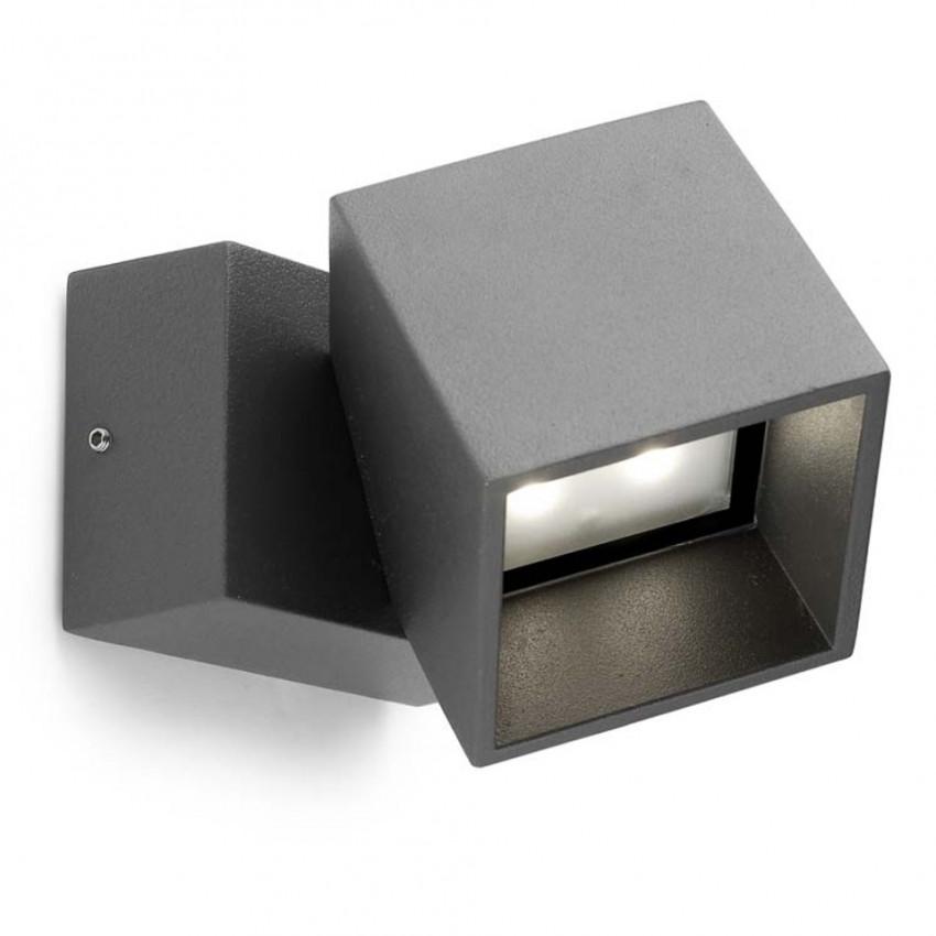 11W IP65 Cubus Wall Light LEDS-C4 05-9685-Z5-CL