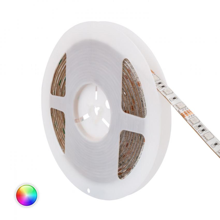 5m RGB LED Strip 12V DC, SMD5050, 60LED/m, IP20