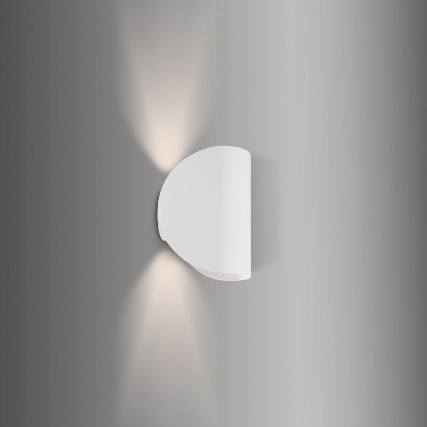 White 6W Gaia LED Up-Down Light