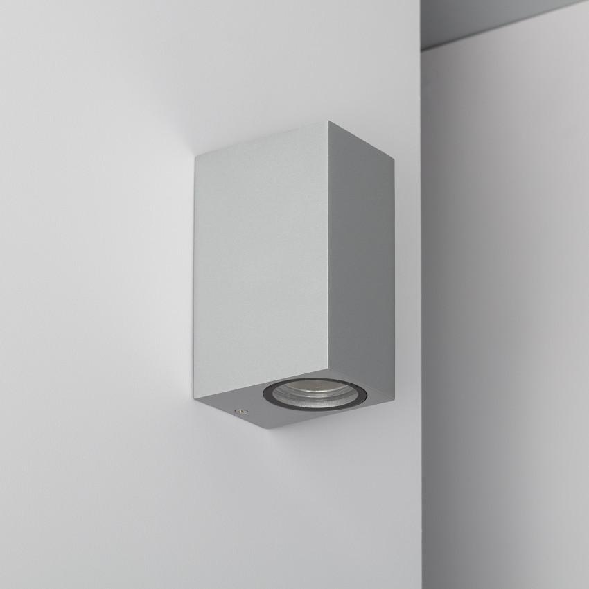Silver Miseno Up-Down Wall Light