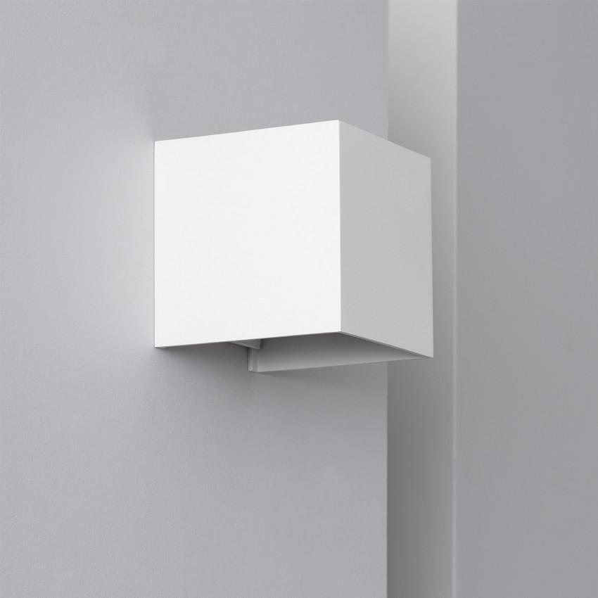White 6W Eros LED Up-Down Wall Light