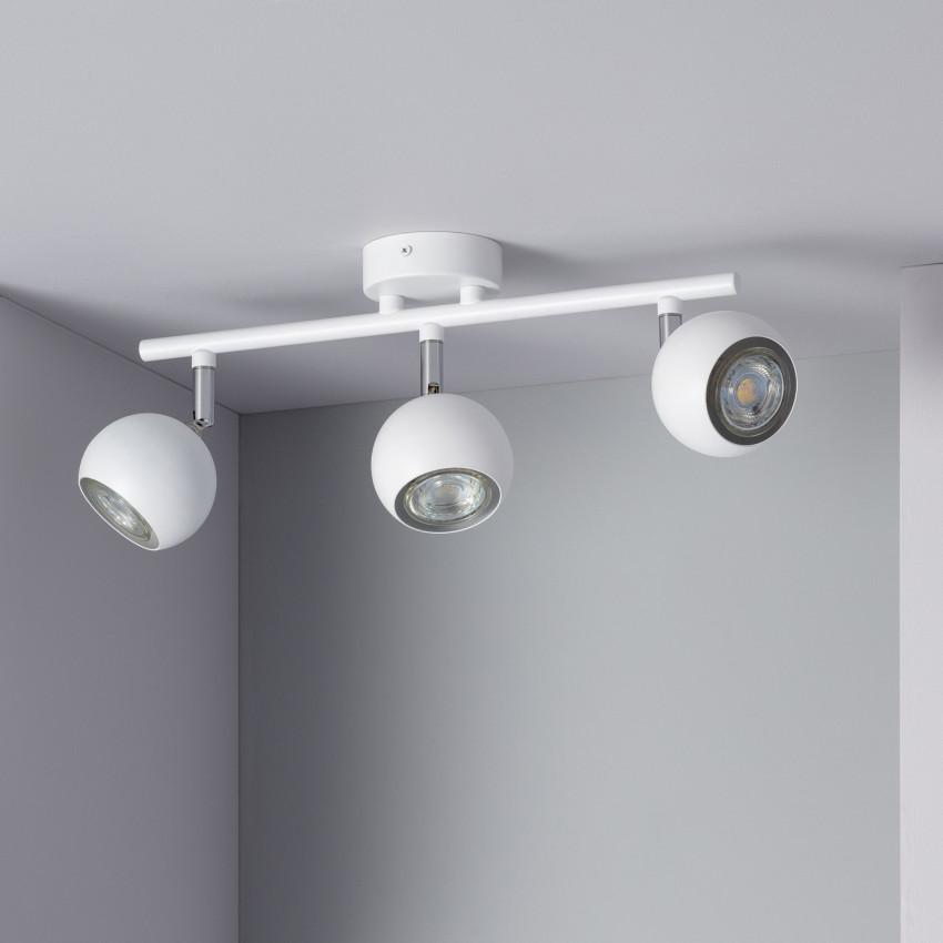 Adjustable Ates Surface Spotlights (x3)