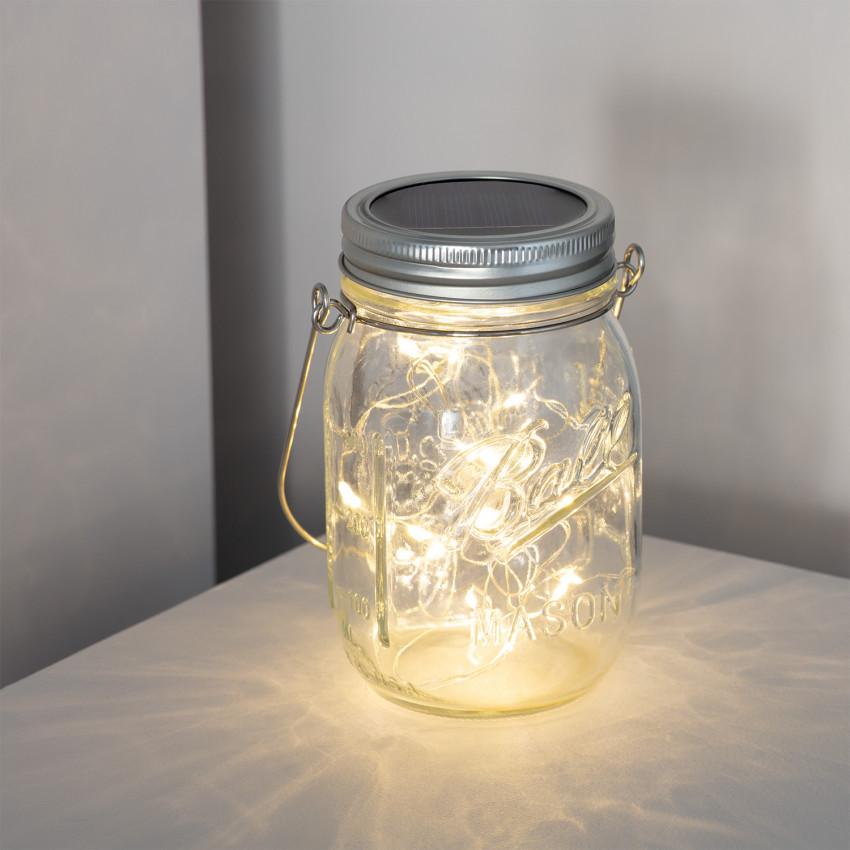 Solar LED Jar Lamp