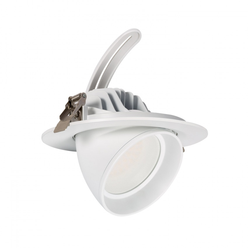 38W Round SAMSUNG 120lm/W Adjustable PHILIPS CertaDrive LED Spotlight