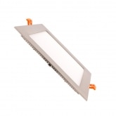 Silver Square 15W UltraSlim LED Panel