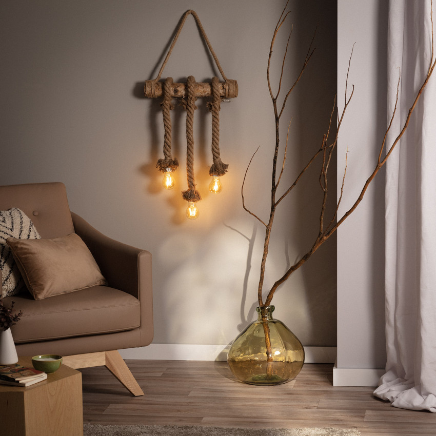 3 Spotlight Kamba LED Pendant Garland