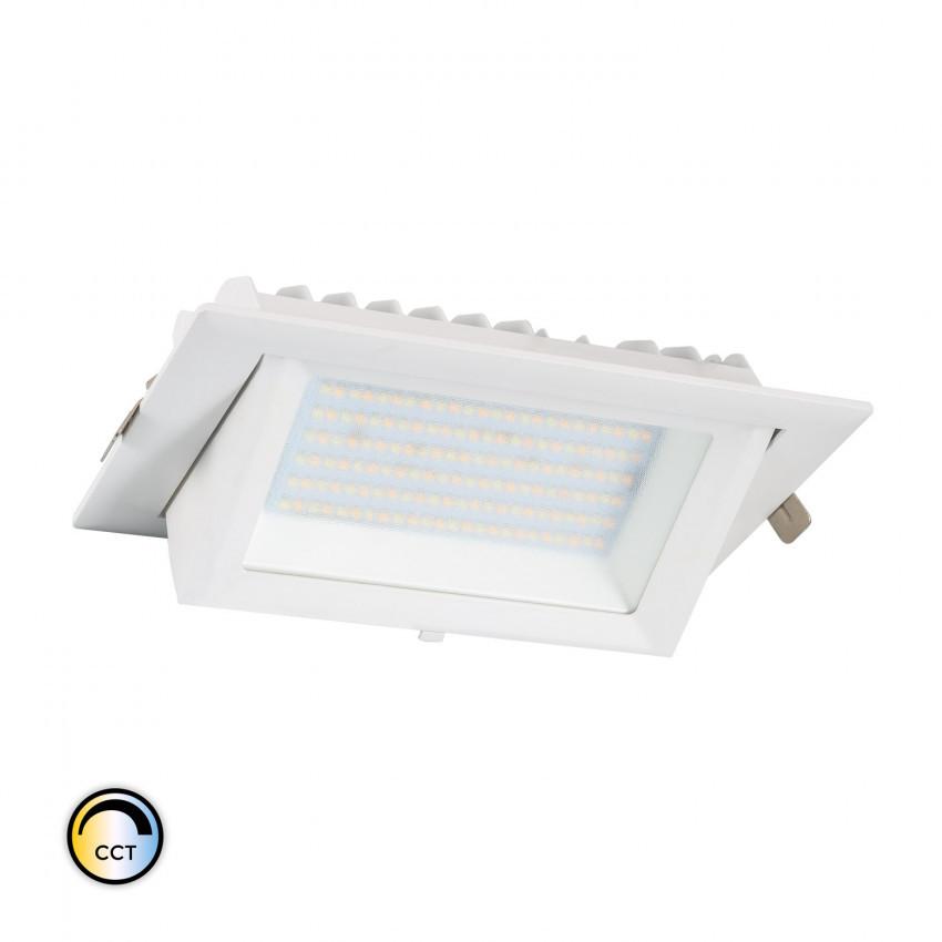 48W Adjustable Rectangular SAMSUNG LIFUD Dimmable LED Floodlight Adjustable CCT 130 lm/W