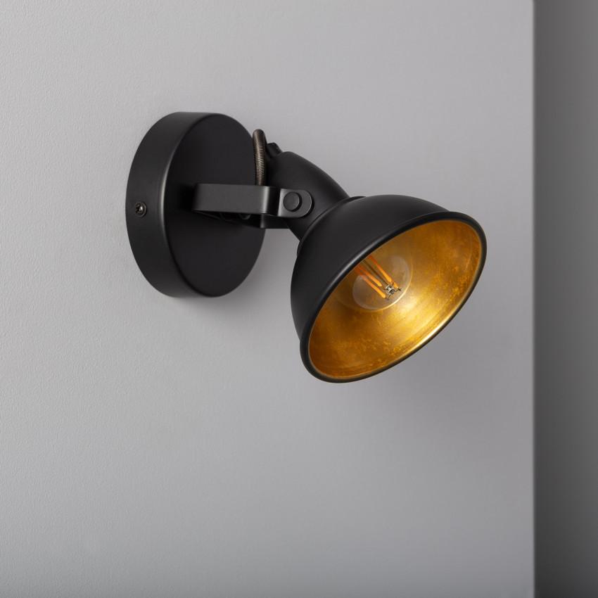 Adjustable Emer Surface Spotlight in Black (x1)